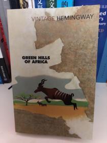 海明威英文原著《非洲的青山》 Hemingway Green Hills of Africa