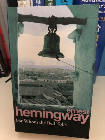 海明威英文原著《丧钟为谁而鸣》Hemingway For Whom The Bell Tolls