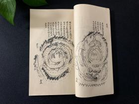 阴阳秘诀 此书原版为清代手抄本 地理风水图谱秘本 可收藏的 宣纸线装影印复印本古籍