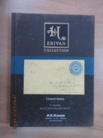 英文书;H.R.Harmer  The  ERIVAN  Collection  United  Stares  1st  Auction  June 22,2019   共160页  16开精装  详见图片