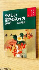 日文原版 茶花的插法 炉编 武内 范男 2002年 111页 世界文化社 21 x 14.8 x 1 cm