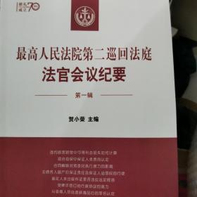 最高人民法院第二巡回法庭法官会议纪要  第一辑  贺小荣
