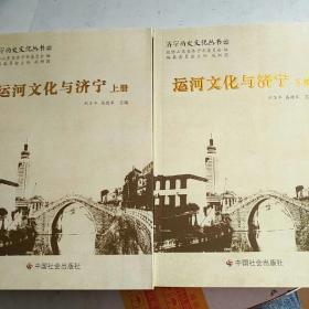 济宁历史文化丛书22:运河文化与济宁 上下册