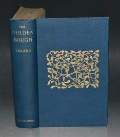 1924年 Golden Bough : Study in Magic & Religion  人类学经典名著《金枝》珍贵早期版本 大开本品佳 增补插图