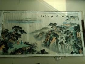 山水画 风景画 客厅挂画 中堂画 风水画