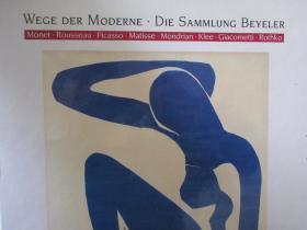 WEGE DER MODERNE - SAMMLUNG BEYELER (MONET; ROUSSEAU; PICASSO;MATISSE; MONDRIAN; KLEE; GIACOMETTI; ROTHKO