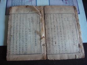 伤寒广要 存卷6-12 2册全