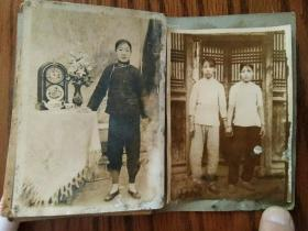 清末民初的少女老照片两张老真