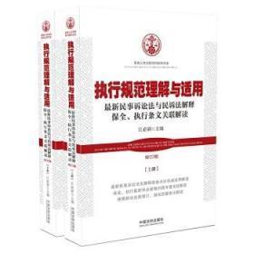 执行规范理解与适用(增订2版)