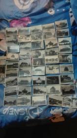 50年代一60年代北京风光照片48张尺寸8.5×4.6cm