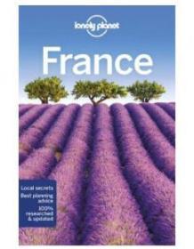 孤独星球 法国旅行指南 第 13版 平装 英文原版 Lonely Planet France Travel Guide 旅行攻略 自由行指