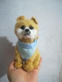 毛绒小狗玩具