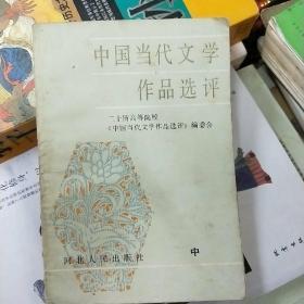 中国当代文学作品选评