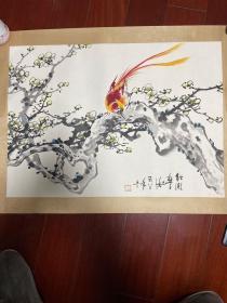 旧沪上知名画家字画
