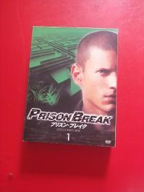 PRISON BREAK 【COLLECTORS BOX 1】6张光盘 DVD