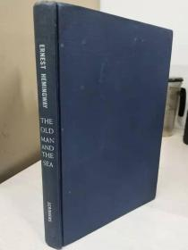 The old man and the sea by Ernest Hemingway   1952年   初版一刷  精装毛边   品相佳