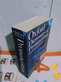 实物拍照;Oxford Dictionary Of Pronunciation For Current English