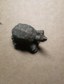 铜质龟形摆件镇纸西安旅游工艺纪念品