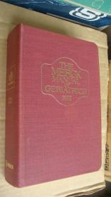 THE MERCK MANUEL OF GERIATRICS (second edition) 《老年医学》英文原版 布面精装带手扣,大32开 1518页  圣经纸印制