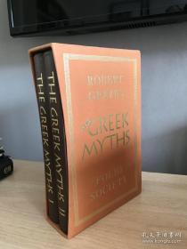 1998年 The Greek Myths 2卷 插图 藏书匣 品新