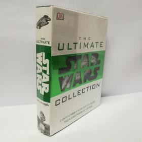 THE  ULTMATE   COLLECTION :STAR  WARS 三本一盒