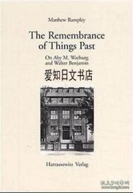 【包邮】The Remembrance Of Things Past:On Aby M. Warburg And Walter Benjamin 2000年出版