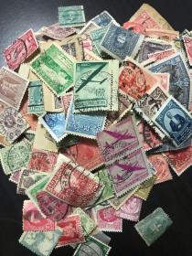古老邮票340张