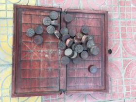 老红木象棋一套