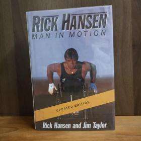Rick Hansen : Man in Motion【作者签赠本】