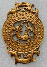 鎏金挂件龙-真金