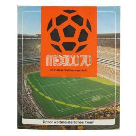 原版1970世界杯西德18球员纪念币