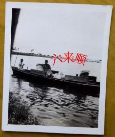 【民国老照片】民国杭州西湖——游船。《民国——天上人间——杭州之旅系列》