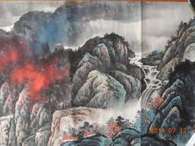 王天然作品:峡江秋韵(包真保值,流传有序)