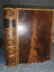 1894年签名  THE POETICAL WORKS OF SIR WALTER SCOTT   插图版  树形封面  三面刷金  18.6X13CM