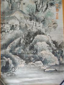 石泉作品:江南三月(包真保值,流传有序)