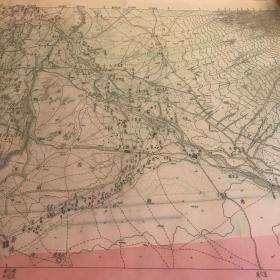 民国东古城地图