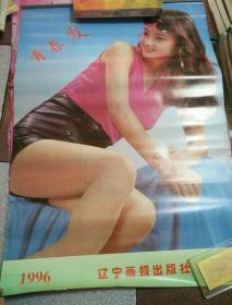 1996年美女挂历--青春发【12张全】