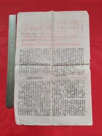 文革小报:矿山战报1976年第50期(热烈庆祝华国锋同志任主席)