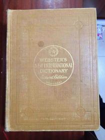 权威辞典进口原装辞典  新韦氏国际英语大词典(全二卷) 第二版 webster s new international dictionary second edition unabridged