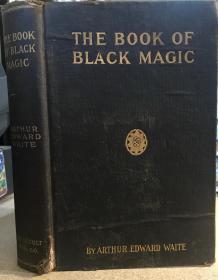 罕见稀缺,珍品《 黑魔法和契约之书,礼仪等》版画插图,1910年出版
