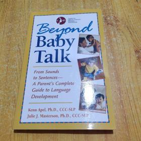 Beyond Baby Talk  From Sounds to Sentences-A Pa