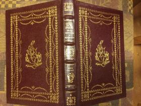 Alices Adventures in Wonderland (Easton Press The 100 Greatest Books Ever Written) 爱丽丝漫游奇境记,1977 伊顿版,竹节书脊真皮精装三口刷金,优雅版画插图本,九五品,值得收藏