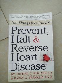 《Prevent,Halt  &Reverse  Heart  Disease》(预防、停止和逆转心脏病)大32开本。