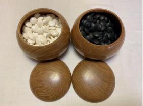 天然围棋   蛤蜊白石  那智黑石   老围棋