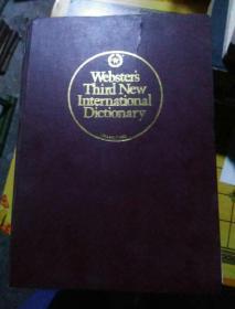 韦氏第三版新国际英语大词典