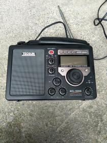 德生牌收音机 调频 中波 短波5波段立体收音机TECSUN 德生MODEL NO BCL-3000 调频/中波/短波5波段立体声收音机,自带天线【如图80号】