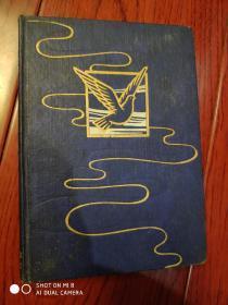 日记本.封面上带鸽子图案(空白)