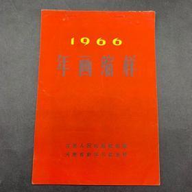 1966年初版年画缩样-河南人民出版社