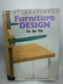 《INTERNATIONAL Furniture DESIGN  For the '90s》国际家具设计90年。