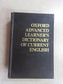 英文书;OXFORD  ADVANCED  LEARNER'S  DICTIONARY  OF  CURRENT  ENGLISH   现代高级英语词典  16开精装   详见图片